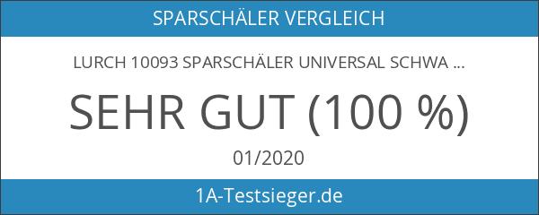 Lurch 10093 Sparschäler Universal schwarz