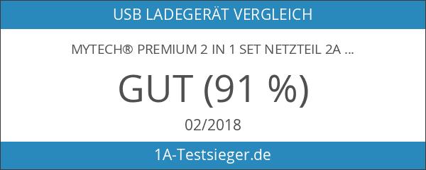 myTech® Premium 2 in 1 Set Netzteil 2A
