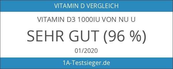 Vitamin D3 1000IU von Nu U