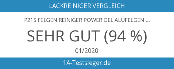 P21s Felgen Reiniger Power Gel Alufelgen-Reiniger 2l
