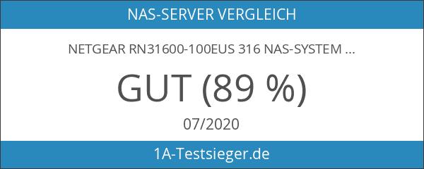 NETGEAR RN31600-100EUS 316 NAS-System