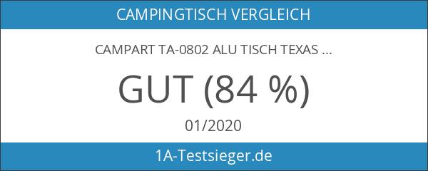 Campart TA-0802 Alu Tisch Texas