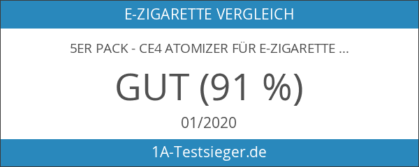 5er Pack - CE4 Atomizer für E-Zigaretten - Original Nox24