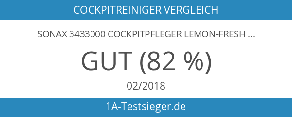 SONAX 3433000 CockpitPfleger Lemon-fresh