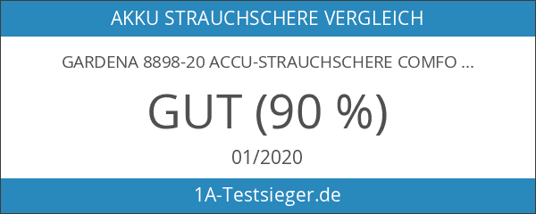 Gardena 8898-20 Accu-Strauchschere ComfortCut 30