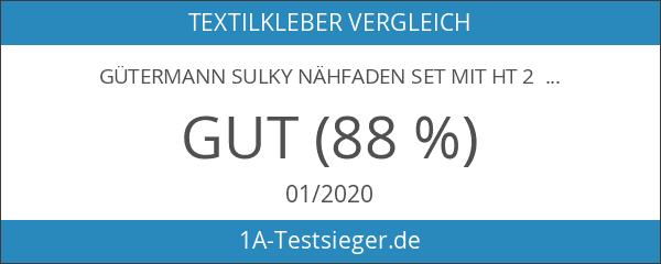 Gütermann Sulky Nähfaden Set mit HT 2 Textilkleber