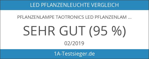 Pflanzenlampe TaoTronics LED Pflanzenlampen 36W E27 vollspektrum Wachstum Tageslicht Pflanzenleuchte