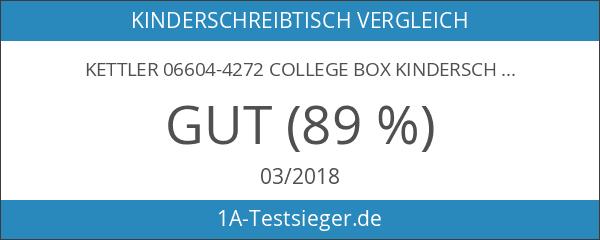 Kettler 06604-4272 College Box Kinderschreibtisch silber