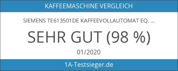 Siemens TE613501DE Kaffeevollautomat EQ.6 300 Direktwahl durch Sensorfelder