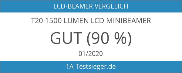 T20 1500 Lumen LCD Minibeamer
