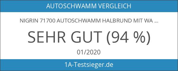 Nigrin 71700 Autoschwamm halbrund mit Waschprofil