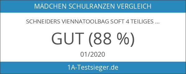 Schneiders ViennaToolbag Soft 4 teiliges Schulranzenset Together Forever