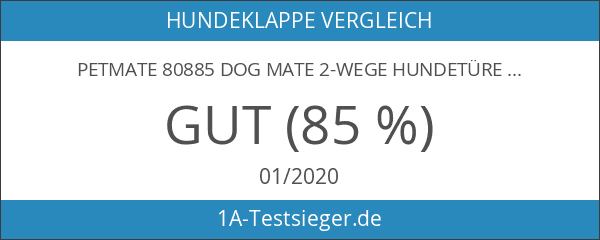 PetMate 80885 Dog Mate 2-Wege Hundetüre