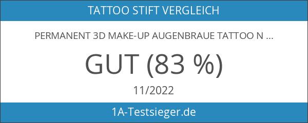 Permanent 3D Make-up Augenbraue Tattoo Nadeln Stifte Pigment Set