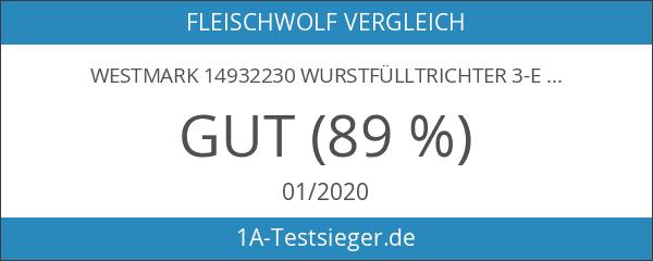 Westmark 14932230 Wurstfülltrichter 3-er Satz