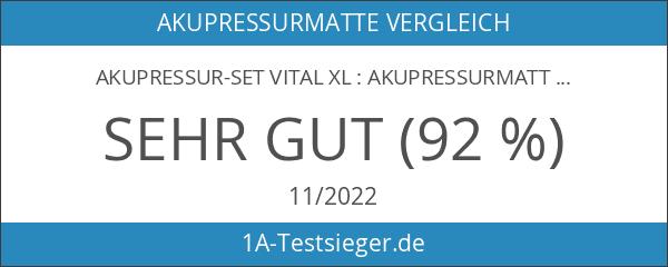 Akupressur-Set VITAL XL : Akupressurmatte & Akupressurkissen im günstigen Set