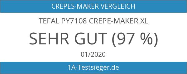 Tefal PY7108 Crepe-Maker XL