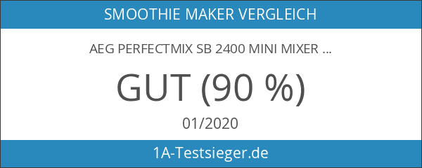 AEG PerfectMix SB 2400 Mini Mixer mit 0