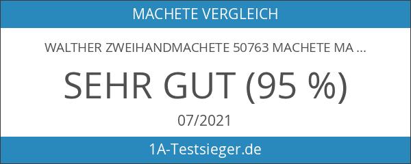 Walther Zweihandmachete 50763 Machete MachTac III inkl. Nylonscheide Gesamtlänge über
