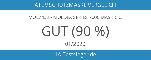 MOL7432 - Moldex Series 7000 Mask c