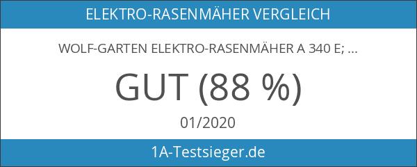 WOLF-Garten Elektro-Rasenmäher A 340 E; 18AKEJS2650