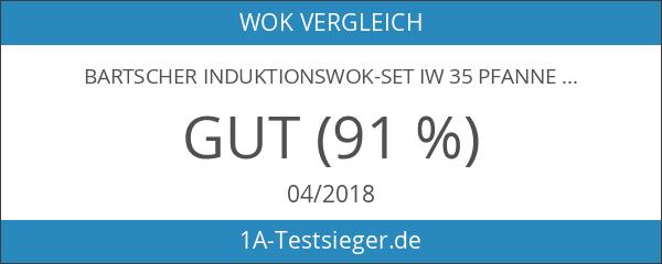Bartscher Induktionswok-Set IW 35 Pfanne 85166050 Art. 105982