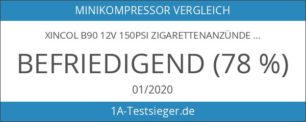 XINCOL B90 12V 150PSI Zigarettenanzünder Chage Mini Auto Luft Kompressor
