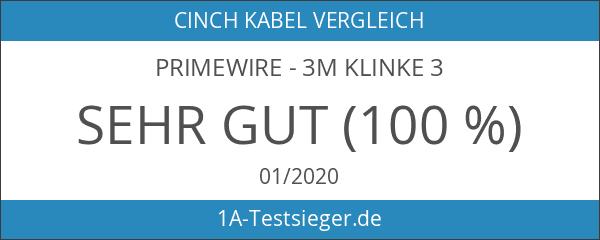 Primewire - 3m Klinke 3