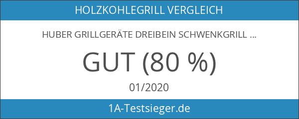 Huber Grillgeräte Dreibein Schwenkgrill inkl. 70 cm Rost aus deutscher