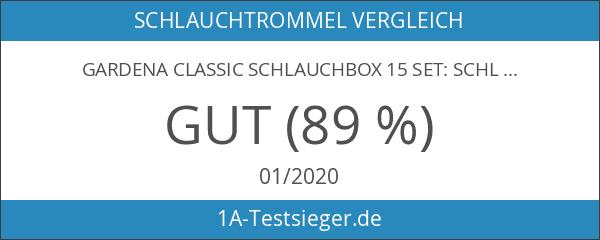 Gardena 2662-20 Classic Schlauchbox 15 Set