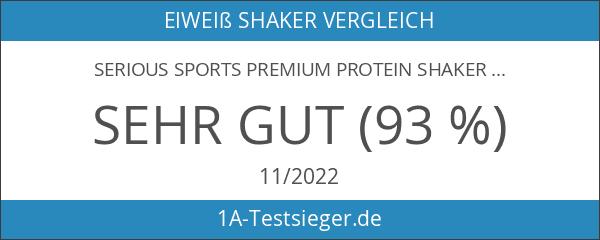 SERIOUS SPORTS Premium Protein Shaker
