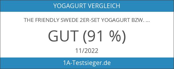 The Friendly Swede 2er-Set Yogagurt bzw. Yogamatten-Gurt mit D-Form-Metallöse und