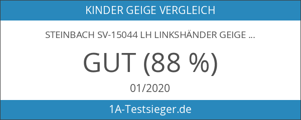 Steinbach SV-15044 LH Linkshänder Geige Set 4