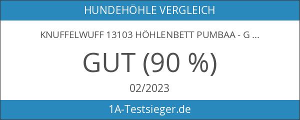 Knuffelwuff 13103 Höhlenbett Pumbaa - Größe Durchmesser 55 cm