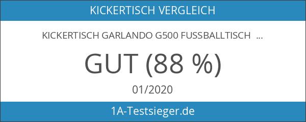 Kickertisch Garlando G500 Fussballtisch Buche