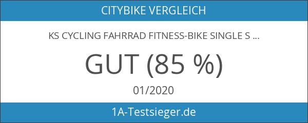 KS Cycling Fahrrad Fitness-Bike Single Speed Essence RH 59 cm