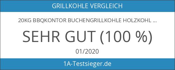 20kg giRo Buchengrillkohle Holzkohle Buche Grillkohle Buchengrillholzkohle Premium