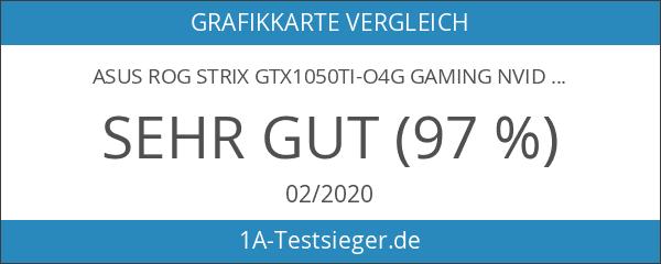 Asus ROG Strix GTX1050TI-O4G Gaming Nvidia GeForce Grafikkarte