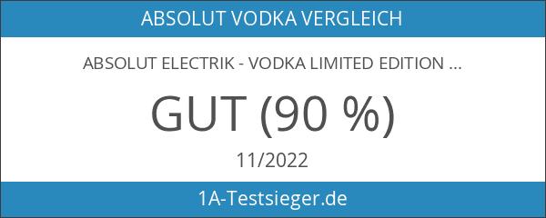 Absolut Electrik - Vodka limited Edition blaue Flasche 40% Vol.