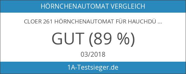 Cloer 261 Hörnchenautomat für hauchdünne