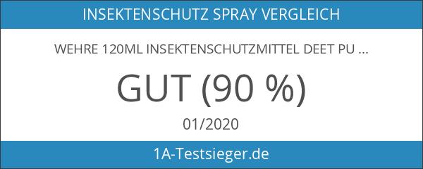 Wehre 120ml Insektenschutzmittel DEET Pumpspray 100