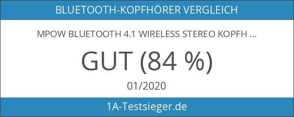 Mpow Bluetooth 4.1 Wireless Stereo Kopfhörer mit Apt-X-Technologie
