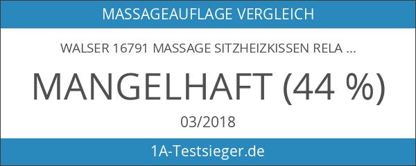Walser 16791 Massage Sitzheizkissen Relax