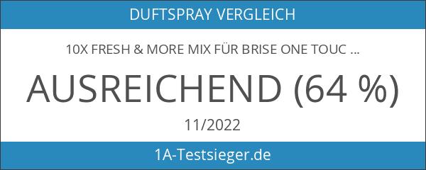 10x Fresh & More Mix für Brise One Touch Nachfüller
