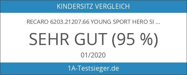 RECARO 6203.21207.66 Young Sport Hero Sicherheitssystem