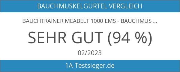 Bauchtrainer Meabelt 1000 EMS - Bauchmuskel-Gürtel - Elektrostimulationsgerät – Muskelaufbau