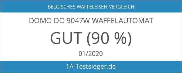 Domo DO 9047W Waffelautomat für extra dicke quadratische belgische