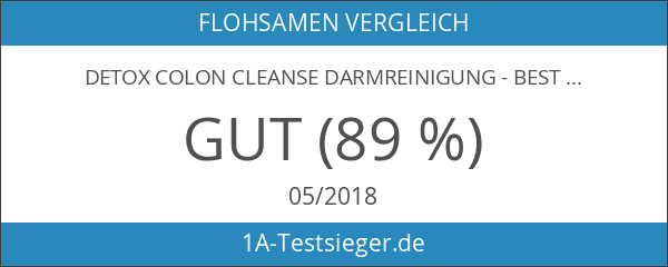 Detox Colon Cleanse Darmreinigung - BESTE Qualität - 1 Monats