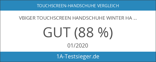 Vbiger TouchscreenHandschuhe Winter Handschuhe Outdoor Handschuhe für Herren