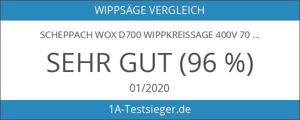 Scheppach wox d700 Wippkreissage 400V 700 MM Blatt 5